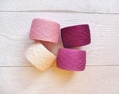 Laceweight  Linen Yarn Radiant orchid - spring collection