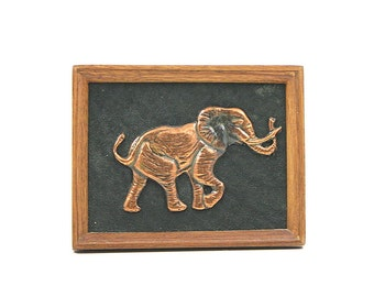 Copper Elephant Picture