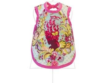 Dress-Up Bib & Burp Cloth - Organic Baby Shower Gift - Photo Prop - BELLE