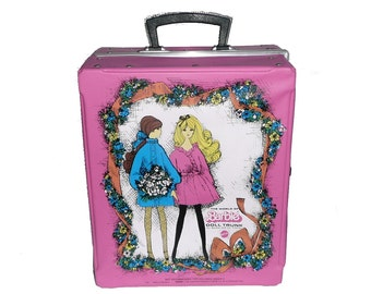 """Rare Barbie doll trunk """"Made in Germany"""""""