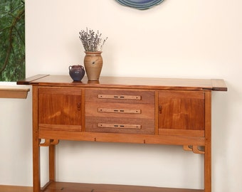 Greene And Greene Mahogany Sideboard