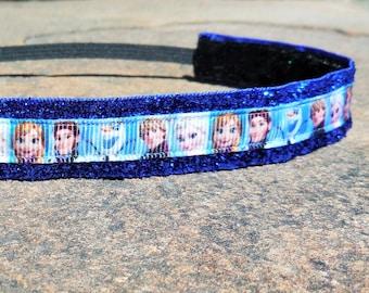 Frozen headband. Princess half marathon headband, Elsa headband, running headband, Frozen hair accessory, girls headband, Elsa costume