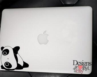 Tarepanda, Laying on Side - Laptop, Car, Graphics, Die Cut Vinyl, Decal, Window, Sticker, A4