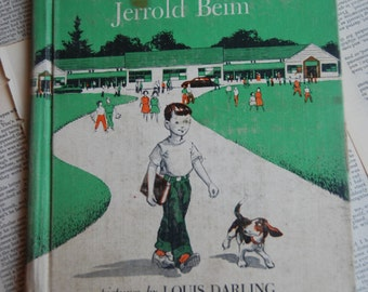 Vintage Children's Book, Country School
