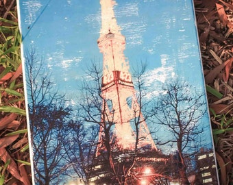 Iconic Sapporo TV Tower (Japan) on canvas