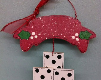 Bunco Christmas Ornament