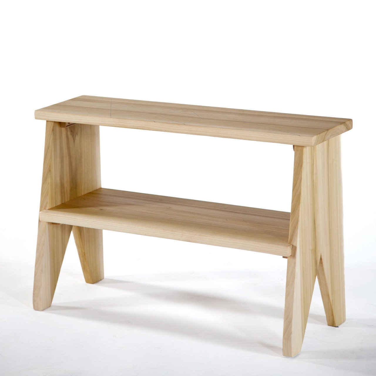 Step stool bedside table small shelving by siosidesignandbuild