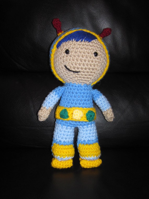 Free Crochet Pattern Umizoomi : PATTERN for Crochet GEO Inspired doll Team by ToqueFairies ...