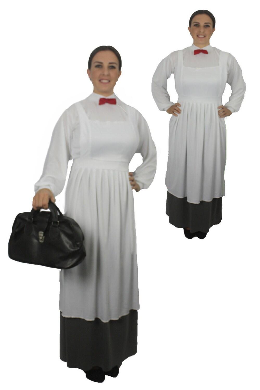 mary poppins viktorianischen nanny kost m von fancydressandhats. Black Bedroom Furniture Sets. Home Design Ideas