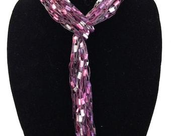Yarn Necklaces That Wear Like A Skinny Scarf #1060