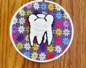 Molar embroidery