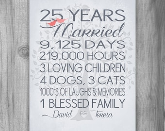 50th Wedding Anniversary Gifts For Parents Canada : 50th Anniversary Gift Golden Anniversary 50 by PrintsbyChristine