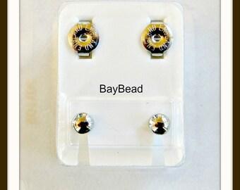 SALE!!! Surgical Steel ear piercing studs (12 pr per lot)