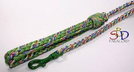 Items Similar To Paracord 8 Strand Gaucho Braid Dog Leash On
