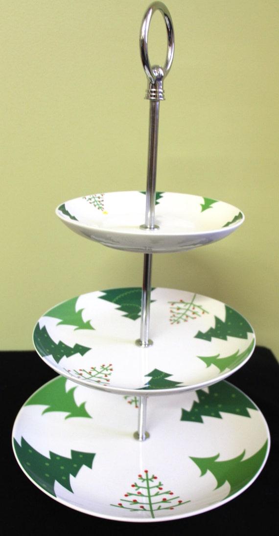 3 Tiered Christmas Cake Stand