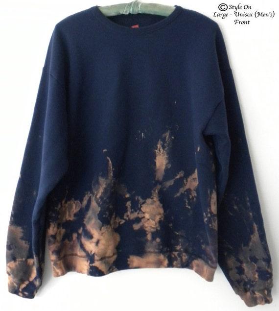 navy sweatshirt navy crewneck sweatshirt tie dye