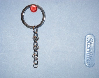 10 Durable Hanging Keychains / Key Chain- Supply --- SALE ---