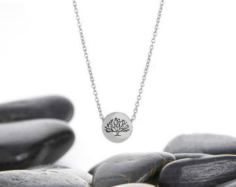 Tree of Life, Tree of Life Jewelry, Tree Necklace, Tree of Life Pendant, Tree of Life Necklace, Family, Silver Tree of Life