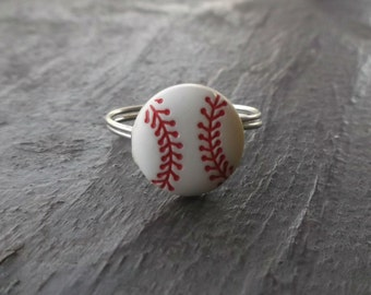 Baseball ring. Custom sizes. Made to order.