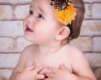 Shabby Chic Flower Headband Newborn headband baby headbands teen headbands adult headbands