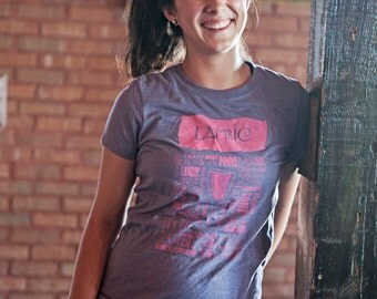 Girly Lambic Craft Beer T-Shirt - Ladies Craft Beer Gift
