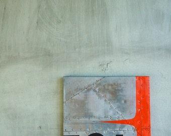Wall Art: Metal Airplane