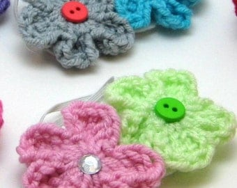 Crochet Flower Applique pattern, flower applique, crochet pattern, crochet applique, applique pattern, flower pattern, flower