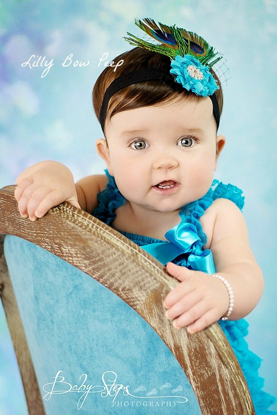 Items Similar Headband Baby Feather
