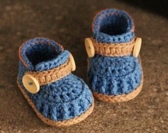 """Crochet Pattern Boys Baby Booties, Crochet Shoes """"Jett Boots"""" Instant Download, Cute Boys Pattern PATTERN ONLY"""