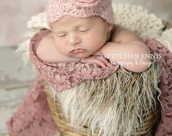 Mohair Newborn Hat