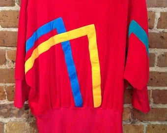 Vintage 80's Red Sweater