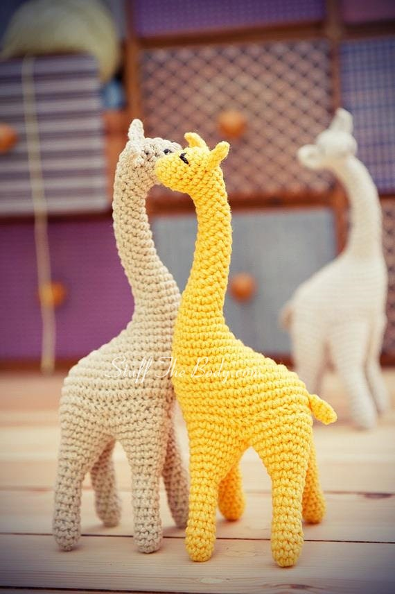 Amigurumi Giraffe : Miss Giraffe crochet pattern Giraffe amigurumi pattern toy