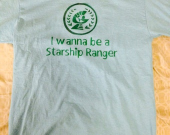 I Wanna Be A Starship Ranger, Starkid, Musical, Shirt