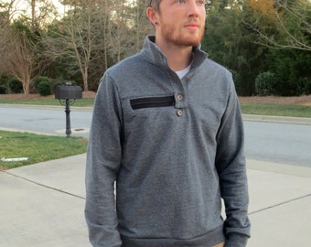 Specialty Sweater Gray for Chemotherapy Patients from One Day Apparel