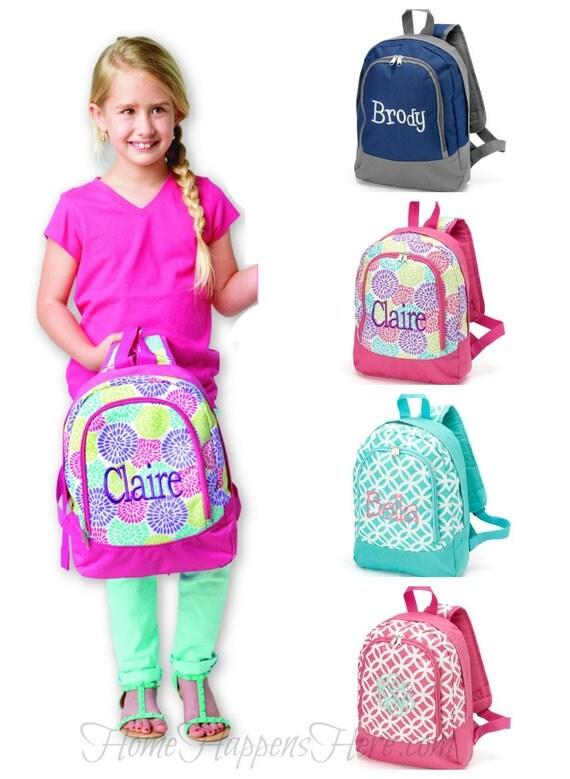 personalized preschool backpacks kids personalized monogrammed preschool school by 352
