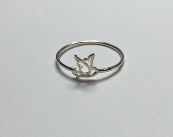 Dove Ring - Sterling Silver