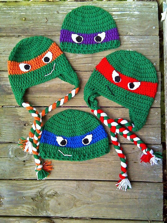 Free Crochet Pattern Ninja Turtle Mask : Ninja Mask Crochet Pattern Free images