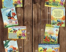 Custom WallyKazam Birthday Invitations