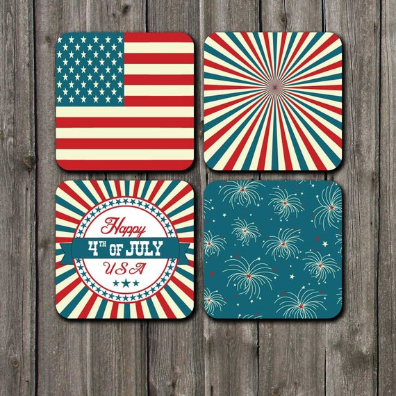 4th Of July Decorations Home Decor Red White And Blue July