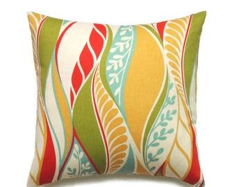 Designer Pillow, 16x16 Pillow Cover, Decorative Pillows, Modern Couch Throw Pillow, Accent Pillow, Cushion Cover, Jala Garden