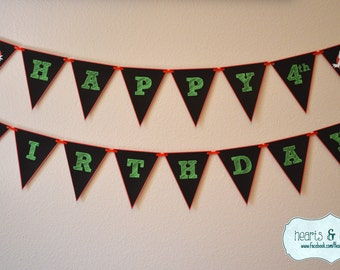 Ghostbusters Party Banner / Ghostbusters Happy Birthday Banner - Print Your Own - FILE to PRINT  DIY