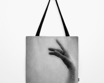 Swan Tote Bag, Ballet Tote Bag, Accessories, Canvas Tote, Shoulder Bag, Fine Art Photography