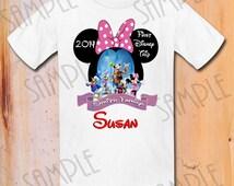 Disney Iron On Transfer Family Disney Vacation Shirts, Personalized digital download Disney World Disneyland 2014 Disney Family Vacation