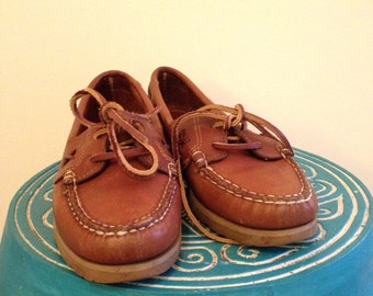 Bass Leather Boat Shoes