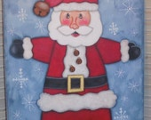 Santa, EPATTERN, Tole Painting Pattern, make it yourself, Santa Claus, Sign, Christmas Decoration, Jolly Ole Soul, Ho Ho Ho, Gift, Decor,Fun
