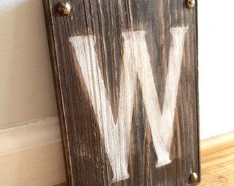 1 CUSTOM WOOD LETTER- Custom Letter Wood- Alphabet Letter Decor