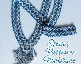 Necklace Spring Patterns. Tutorial PDF
