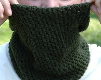 Crochet Pattern - Neck Warmer Pattern Crochet Cowl Pattern Mens Neck Warmer Pattern Mens Cowl Pattern - Spruce Neck Warmer P133