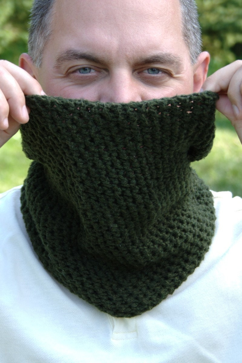 Crochet Neck Warmer : Crochet Pattern Neck Warmer Pattern by HiddenMeadowCrochet
