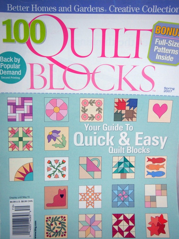 100 Quilt Blocks By Better Homes And Gardens By Needaneedle